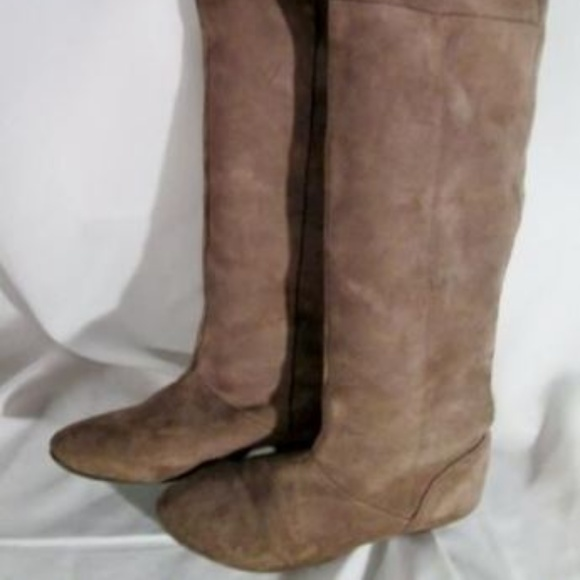 a3dc0efcf7f Chinese Laundry Shoes - Womens CHINESE LAUNDRY Suede Leather Thigh High